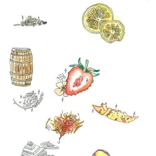 Custom watercolors