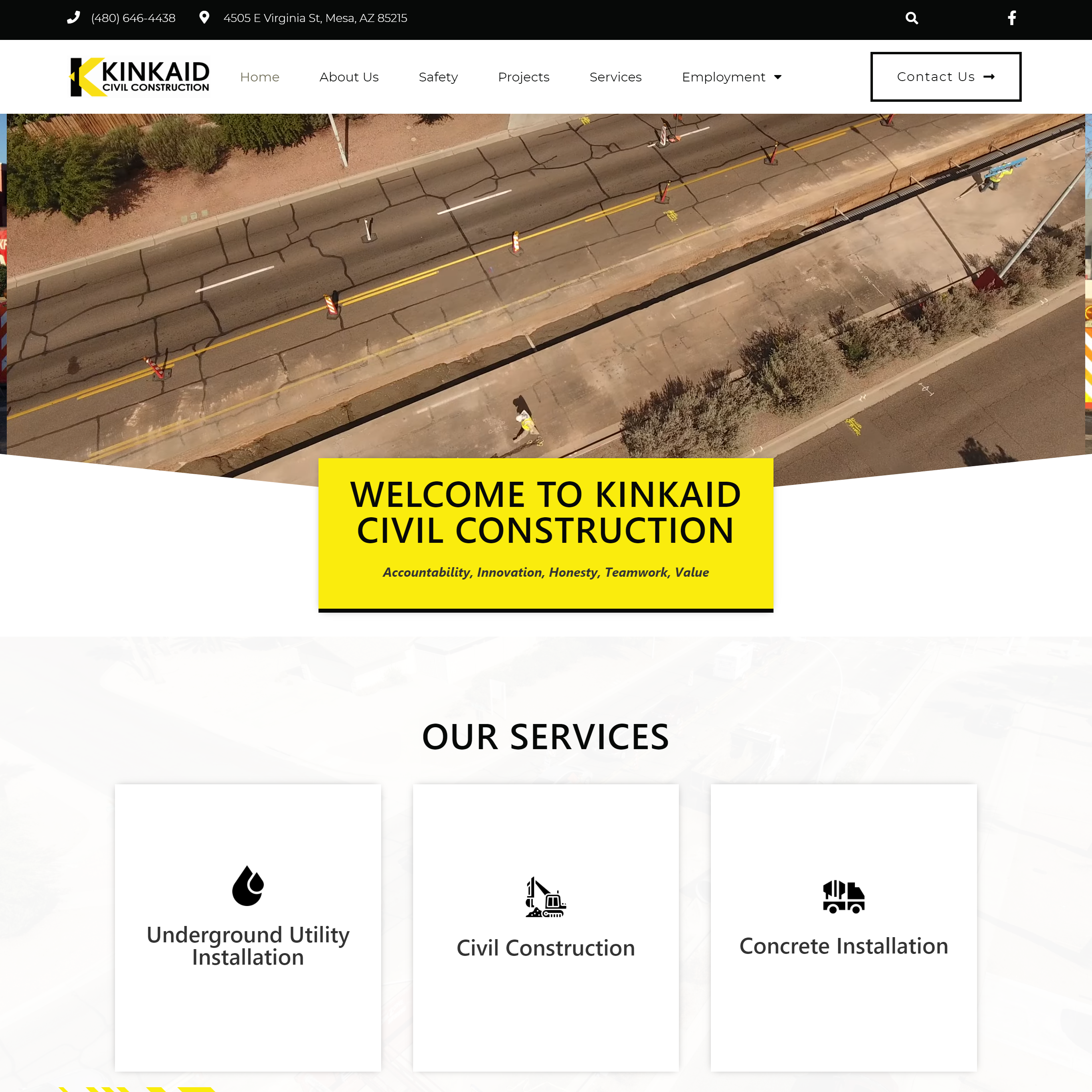 Kinkaid Civil Construction