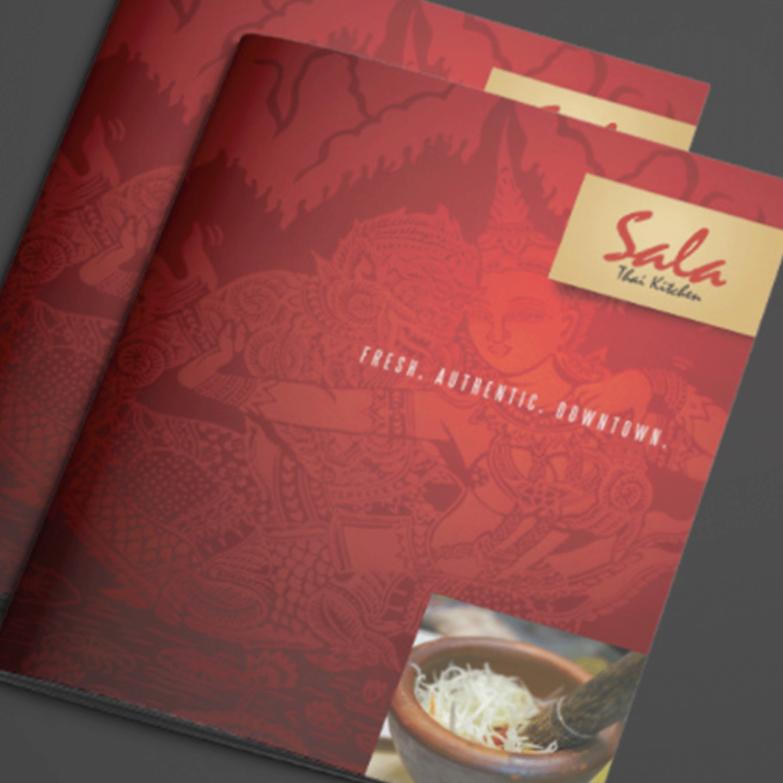 Sala Thai Kitchen Bifold Mailer